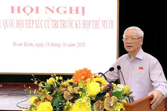 Tổng Bí thư, Chủ tịch nước: Cán bộ của Hà Nội phải bản lĩnh trí tuệ, công dân của Thủ đô phải mẫu mực
