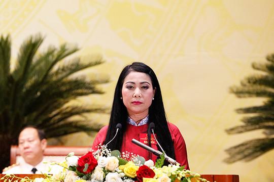Bà Hoàng Thị Thúy Lan tái đắc cử Bí thư Tỉnh ủy Vĩnh Phúc