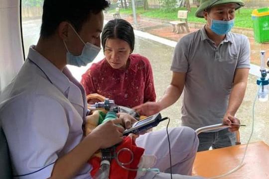Khám từ xa cứu sản phụ sinh non ở huyện đảo Cô Tô