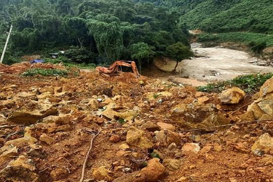 Tìm thấy 4 thi thể còn lại trong vụ sạt lở vùi lấp cả gia đình ở Quảng Trị