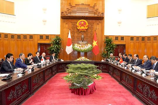 Hội đàm giữa hai Thủ tướng Việt Nam và Nhật Bản