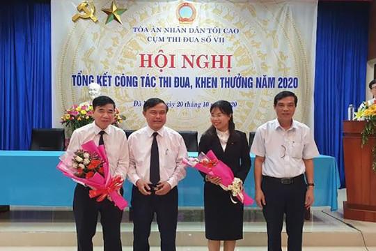 Cụm thi đua số VII TAND tổng kết công tác thi đua năm 2020