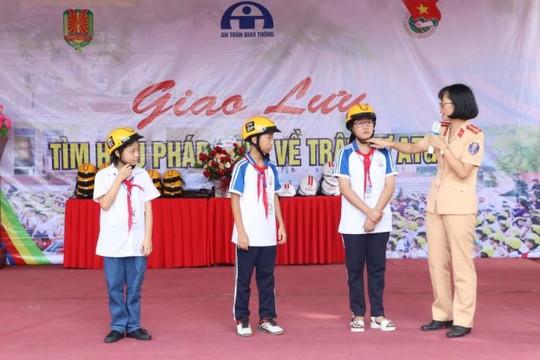 Thái nguyên: Tuyên truyền kiến thức pháp luật về an toàn giao thông cho học sinh