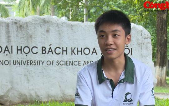 Thủ khoa ĐH Bách khoa mơ ước viết nên những ứng dụng công nghệ thông tin mang thương hiệu Việt Nam