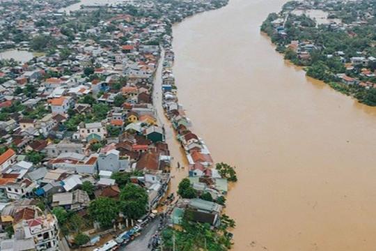Cảnh báo lũ trên các sông từ Nghệ An đến Thừa Thiên Huế