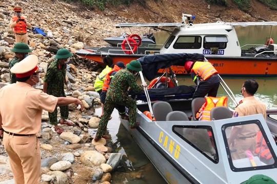 Tìm thấy thi thể thứ 4 trong vụ sạt lở Thủy điện Rào Trăng 3