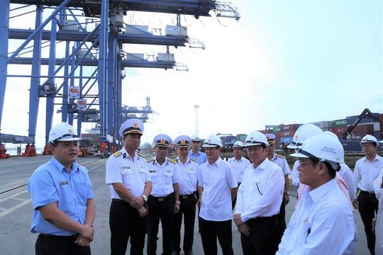 TAND cấp cao tại TP.HCM thăm, làm việc tại Tổng Công ty Tân Cảng Sài Gòn
