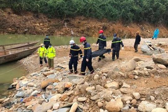Tiếp tục công tác tìm kiếm các nạn nhân ở thủy điện Rào Trăng 3