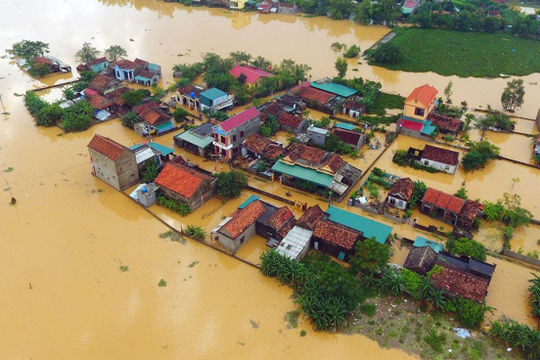 EU viện trợ 1,3 triệu Euro cho Việt Nam khắc phục hậu quả mưa lũ
