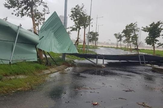 Bão số 9: Gió giật mạnh và mưa lớn tại các tỉnh miền Trung- Tây Nguyên