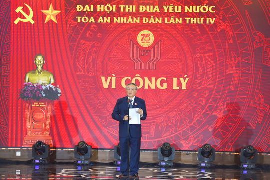 Khai mạc Đại hội thi đua yêu nước lần thứ IV và Kỷ niệm 75 năm truyền thống TAND