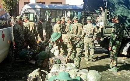 Vụ sạt lở ở Nam Trà My: Hàng trăm cán bộ, chiến sĩ khẩn trương mở đường vào hiện trường