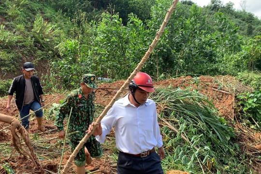 Quảng Nam: Thêm 11 người ở Phước Sơn bị vùi lấp