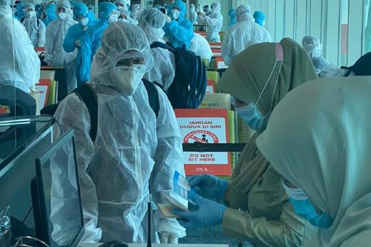Gần 240 công dân Việt Nam từ Brunei được đưa về nước an toàn