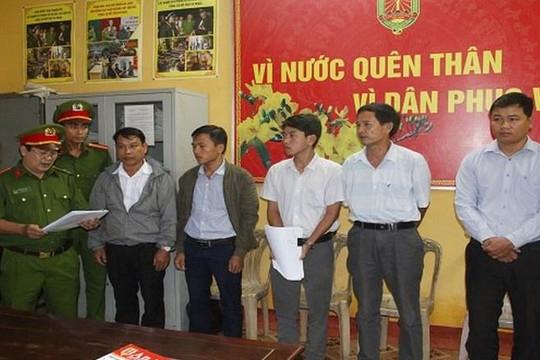 Chủ tịch phường và 4 nhân viên địa chính gây thiệt hại gần 4 tỉ đồng