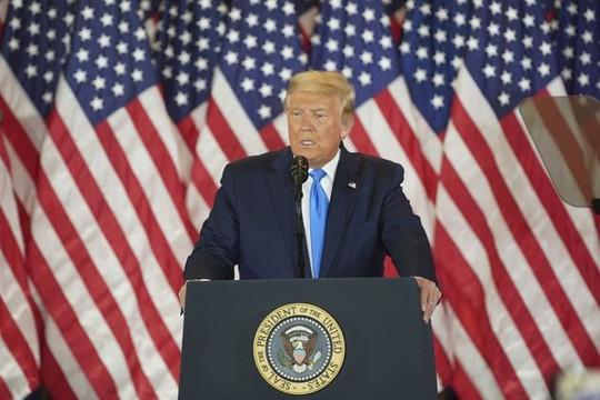 """Tổng thống Trump: """"Chúng tôi thắng ở các bang không mong đợi!"""""""