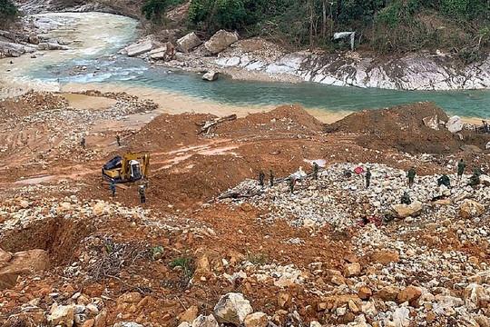 Dừng toàn bộ hoạt động xây dựng thủy điện Rào Trăng 3