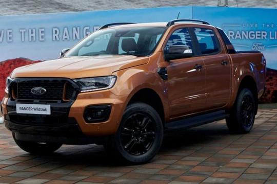 Ford Ranger 2021 ra mắt có giá từ hơn 21.000 USD