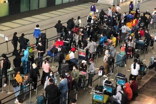 Hơn 270 công dân Việt Nam từ Anh được đưa về nước an toàn