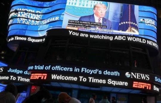 Bầu cử Mỹ 2020: Nhiều kênh truyền hình Mỹ cắt sóng đối với Tổng thống Trump