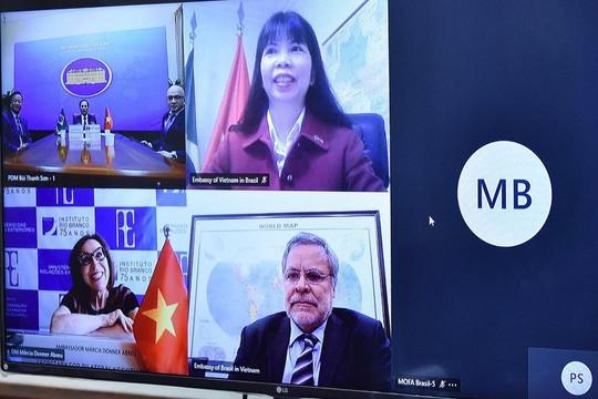 Việt Nam - Brazil chia sẻ về tình hình ứng phó và kiểm soát đại dịch COVID-19