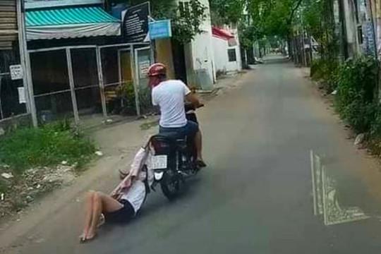 Video tên cướp kéo lê cô gái hàng trăm mét