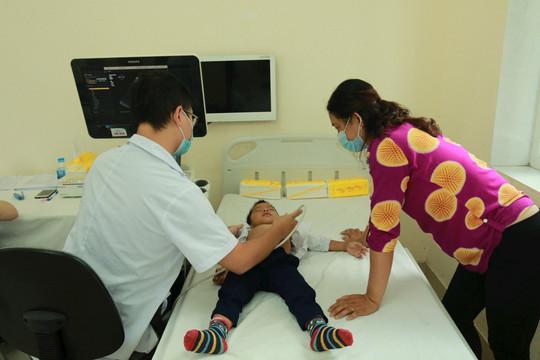 1800 trẻ em ở Hải Phòng được khám sàng lọc tim miễn phí