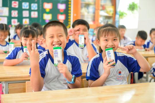 Chương trình sữa học đường TP.Hồ Chí Minh mở rộng đến 24 quận, huyện