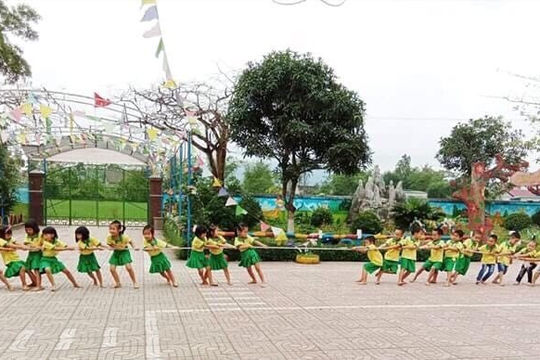 Trường mầm non Nghi Yên (Huyện Nghi Lộc - Nghệ An): Nỗ lực đạt chuẩn quốc gia