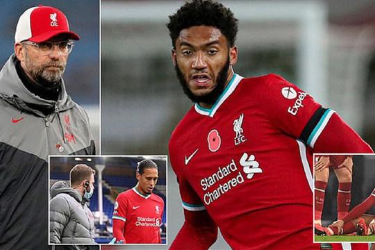 """Gomez chấn thương: Khi Liverpool phải """"nhắm mắt"""" chờ phiên chợ Đông"""