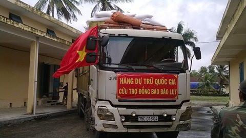 Xuất cấp hơn 4.303 tấn gạo cho 3 tỉnh miền Trung gặp thiên tai