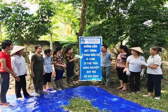 Thái Nguyên: Hội phụ nữ tích cực xây dựng nông thôn mới, phát triển kinh tế, bảo vệ môi trường