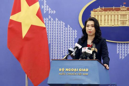 Bộ Ngoại giao: Không có thông tin về việc bà Hồ Thị Kim Thoa bị bắt tạiPháp