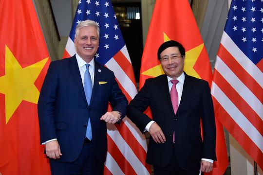 """Lòng tin giữa Việt Nam và Hoa Kỳ """"ngày càng được tăng cường"""""""