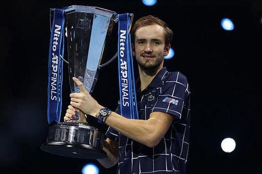 Daniil Medvedev vô địch ATP Finals