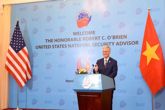 """Hoa Kỳ ủng hộ Việt Nam """"vững mạnh, độc lập và thịnh vượng"""""""