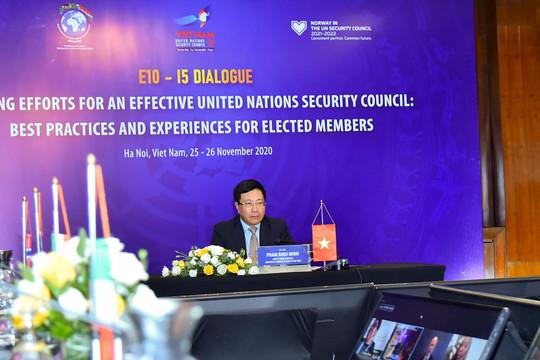 Việt Nam đồng chủ trì cuộc họp nhóm nước Ủy viên không thường trực Hội đồng Bảo an