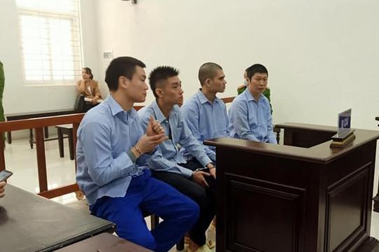Bốn bị cáo bắt cóc con nợ lĩnh bản án nghiêm khắc