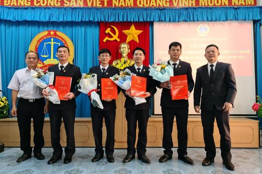 Đắk Lắk: Công bố quyết định bổ nhiệm Chánh án, Phó Chánh án TAND cấp huyện