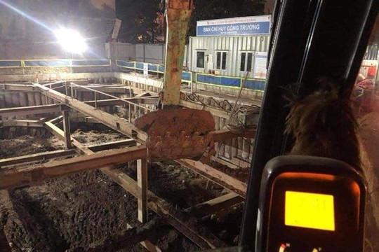 Phát hiện quả bom nặng 340kg tại công trình xây dựng trên phố Cửa Bắc