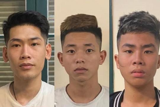 Bắt giữ 4 đối tượng dùng dao gây ra nhiều vụ cướp tại Hà Nội