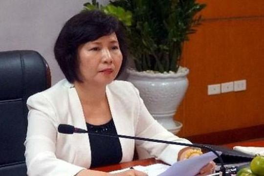 Khai trừ Đảng nguyên Thứ trưởng Bộ Công Thương Hồ Thị Kim Thoa
