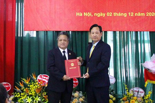 TANDTC bổ nhiệm Vụ trưởng Vụ Thi đua - Khen thưởng