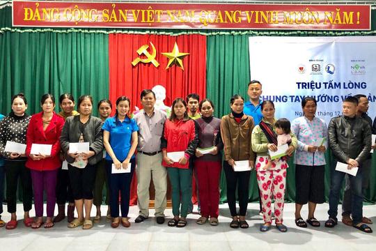 Novaland tiếp tục hỗ trợ bà con tỉnh Quảng Nam ổn định cuộc sống sau bão lũ