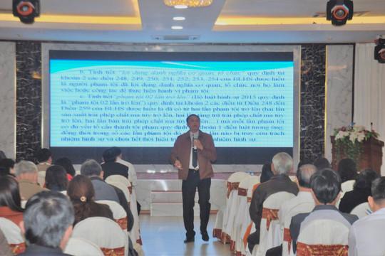 TAND tỉnh Gia Lai tổ chức tập huấn Hội thẩm nhân dân lần 2 năm 2020