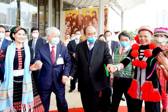 Đại hội đại biểu toàn quốc các dân tộc thiểu số lần thứ 2 chính thức khai mạc