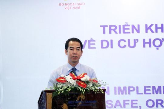 Việt Nam cam kết thúc đẩy di cư hợp pháp, an toàn và trật tự