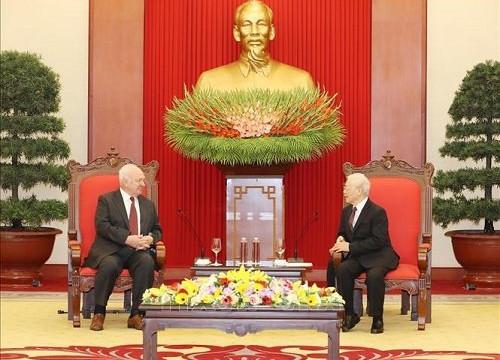 Hợp tác giữa hai Đảng làm sâu sắc hơn quan hệ Đối tác chiến lược toàn diện Việt-Nga