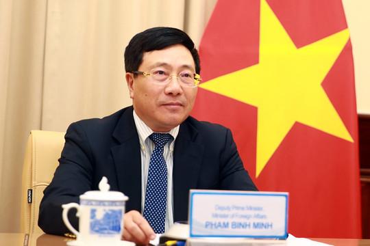 Phó Thủ tướng Phạm Bình Minh điện đàm, tiếp Thứ trưởng Ngoại giao Na Uy và Hàn Quốc