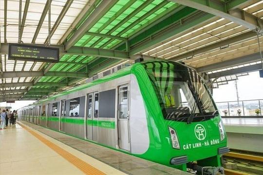 Sắp chạy thử tuyến đường sắt Cát Linh-Hà Đông